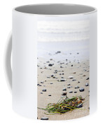 Beach Detail On Pacific Ocean Coast Of Canada Coffee Mug