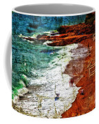 Beach Fantasy Coffee Mug by Madeline Ellis