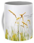 Beach Grass .serenity. Coffee Mug