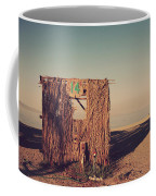 Beach Hut Number Fourteen Coffee Mug by Laurie Search