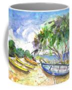 Beach In Ayia Napa Coffee Mug