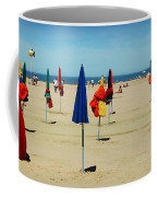 Beach In Deauville Coffee Mug