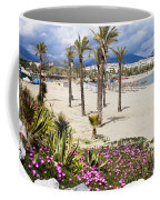 Beach In Puerto Banus Coffee Mug