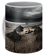 Beach Minstrel Coffee Mug by Carlos Caetano