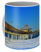 Beach Pier Coffee Mug