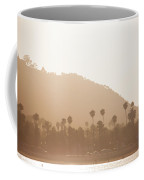 Beachline With Palms Coffee Mug
