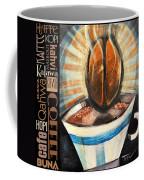 Bean Coffee Languages Poster Coffee Mug