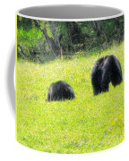 Bears In A Peaceful Meadow1 Coffee Mug