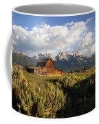 Beautiful Barn Grand Teton  Coffee Mug