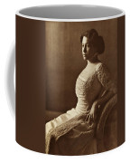 Beautiful Lady In 1880 Coffee Mug
