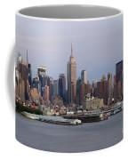 Beautiful Light On New York City Coffee Mug