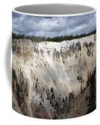 Beautiful Lighting On The Grand Canyon In Yellowstone Coffee Mug