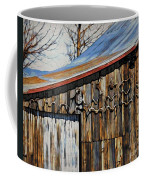 Beautiful Old Barn With Horns Coffee Mug