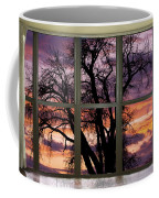 Beautiful Sunset Bay Window View Coffee Mug
