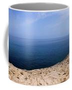 Beautiful View On Mediterranean Sea From Cape Gkreko In Cyprus Coffee Mug