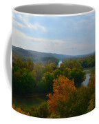Beauty On The Bluffs Autumn Colors Coffee Mug