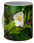 Beautyberry And Anemone 2 Coffee Mug