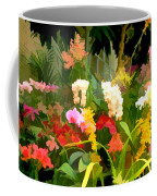 Bed Of Orchids Coffee Mug