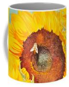 Bee And Sunflowers Coffee Mug