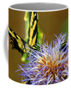 Bee And The Butterfly Coffee Mug