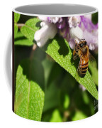 Bee At Work Coffee Mug by Kaye Menner