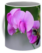 Bee In The Pink - Greeting Card Coffee Mug