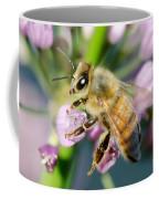 Bee On A Flower Coffee Mug