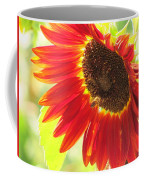 Bee On A Sunflower Coffee Mug
