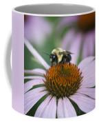 Bee Resting Squared Coffee Mug