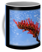 Bee With Red Flower 1 Coffee Mug