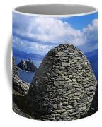 Beehive Huts At The Coast, Skellig Coffee Mug