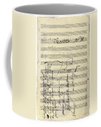 Beethoven Manuscript, 1799 Coffee Mug by Granger