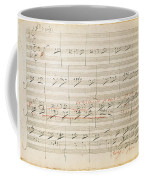 Beethoven Manuscript, 1806 Coffee Mug by Granger