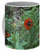 Beewildered By Red Coffee Mug