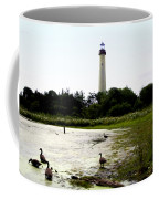 Behind The Cape May Lighthouse Coffee Mug by Bill Cannon