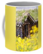 Behind Yellow Flowers Coffee Mug