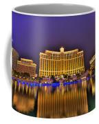 Belagio Las Vegas Coffee Mug by Nicholas  Grunas
