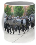 Belgian Infantry Soldiers Training Coffee Mug by Luc De Jaeger