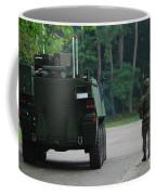 Belgian Infantry Soldiers Walk Coffee Mug