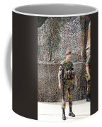Belgian Soldier On Guard Coffee Mug