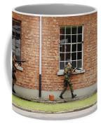 Belgian Soldiers On Patrol Coffee Mug