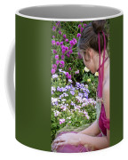 Belle In The Garden Coffee Mug by Angelina Vick