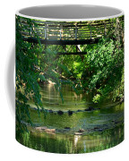Below The Bridge Is Another World Coffee Mug