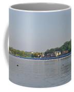 Below The Fairmount Dam Coffee Mug