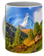 Below The Matterhorn Coffee Mug