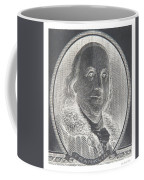 Ben Franklin In Negative Coffee Mug