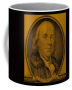 Ben Franklin In Orange Coffee Mug