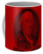Ben Franklin In Red Coffee Mug
