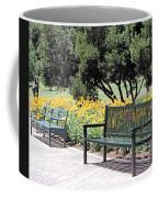 Benches  Coffee Mug