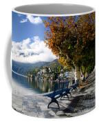 Benches With Shadow Coffee Mug